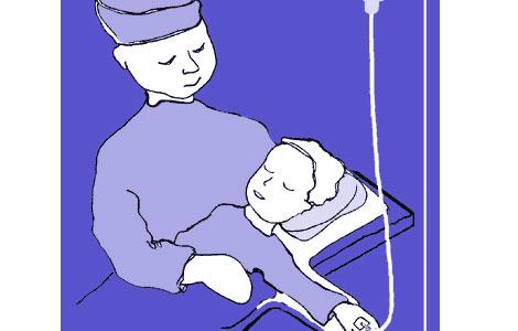 hvor lenge varer diare hos barn